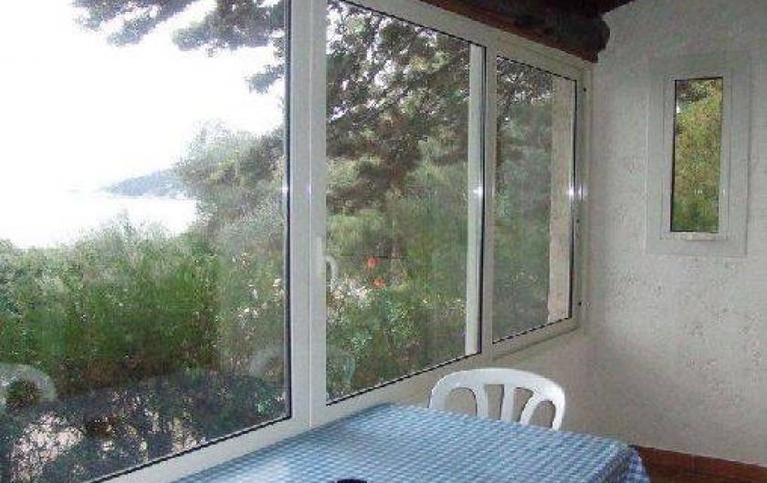 Location de vacances - Villa à Sainte-Lucie de Porto-Vecchio - térrasse