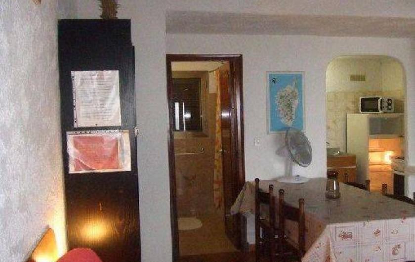 Location de vacances - Villa à Sainte-Lucie de Porto-Vecchio - sejour