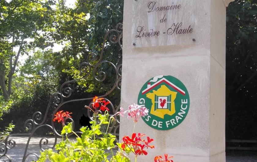 Location de vacances - Mas à Narbonne - Arrivée Domaine