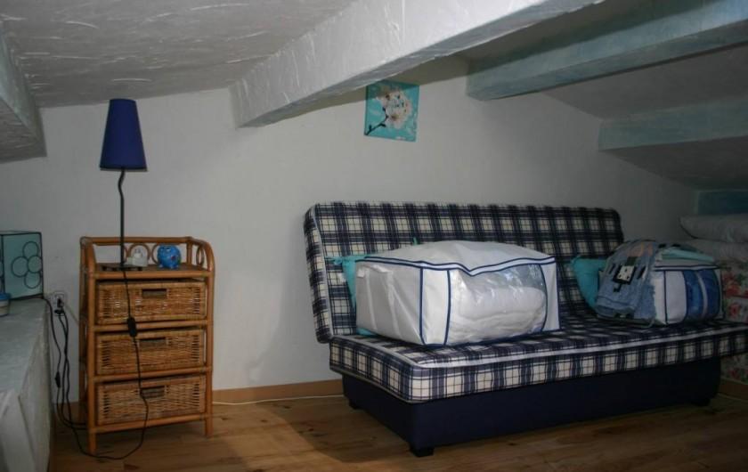 Location de vacances - Maison - Villa à Empuriabrava - 3 / Chambre mansardée