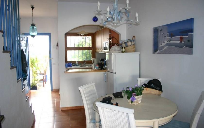 Location de vacances - Maison - Villa à Empuriabrava - Coin repas,cuisine