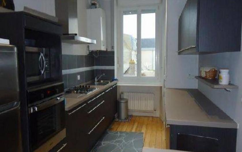 Location de vacances - Appartement à Saint-Malo - cuisine labo