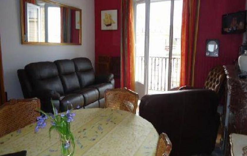 Location de vacances - Appartement à Saint-Malo - salon