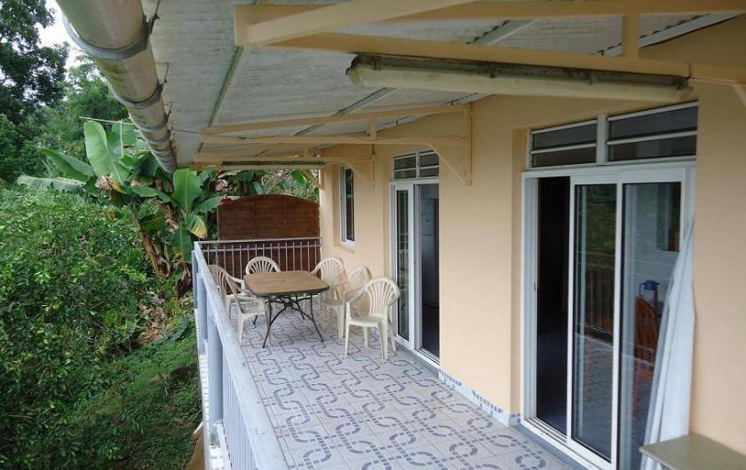 Location de vacances - Gîte à Sainte-Luce - Terrasse 24m² LA MER