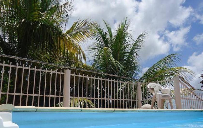 Location de vacances - Gîte à Sainte-Luce - Venez profitez du soleil des antilles, les pieds dans l'eau
