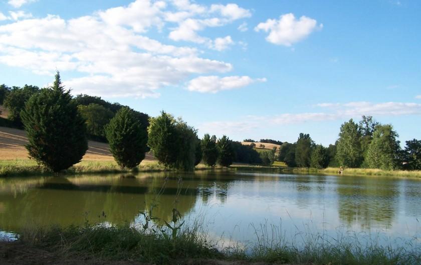 Location de vacances - Chambre d'hôtes à Seysses-Savès - Le lac