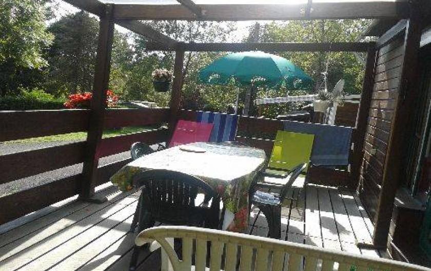 Location de vacances - Camping à Murat-le-Quaire