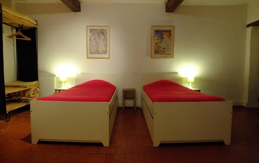 Location de vacances - Gîte à Saint-Bonnet-de-Cray - Chambre 2
