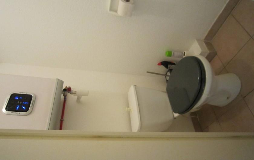 Location de vacances - Appartement à Le Cap d'Agde - WC séparé