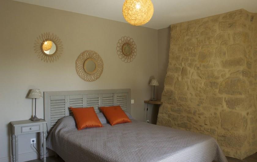 Location de vacances - Gîte à Saint-Avit-Sénieur - chambre 2 .  étage.