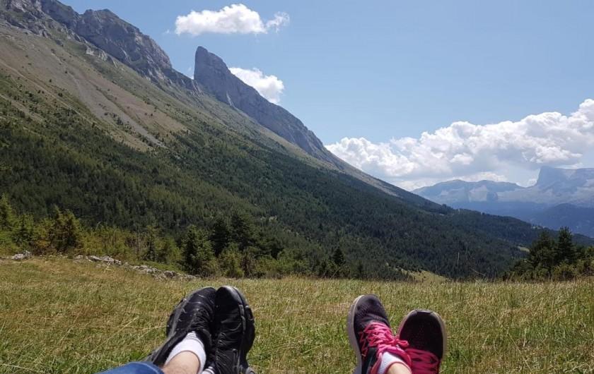 Location de vacances - Appartement à La Joue du Loup - VTT dans la montagne