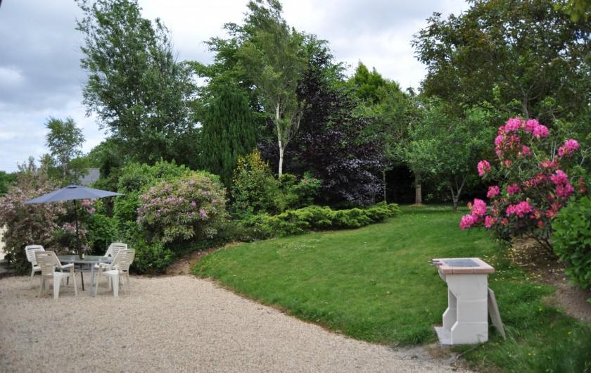 Location de vacances - Gîte à Lanvellec - Ty Nevez - devant maison