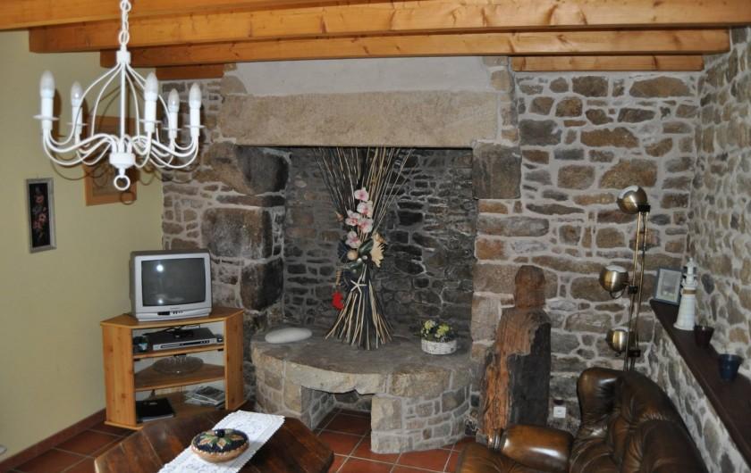 Location de vacances - Gîte à Lanvellec - Ty Nevez - séjour