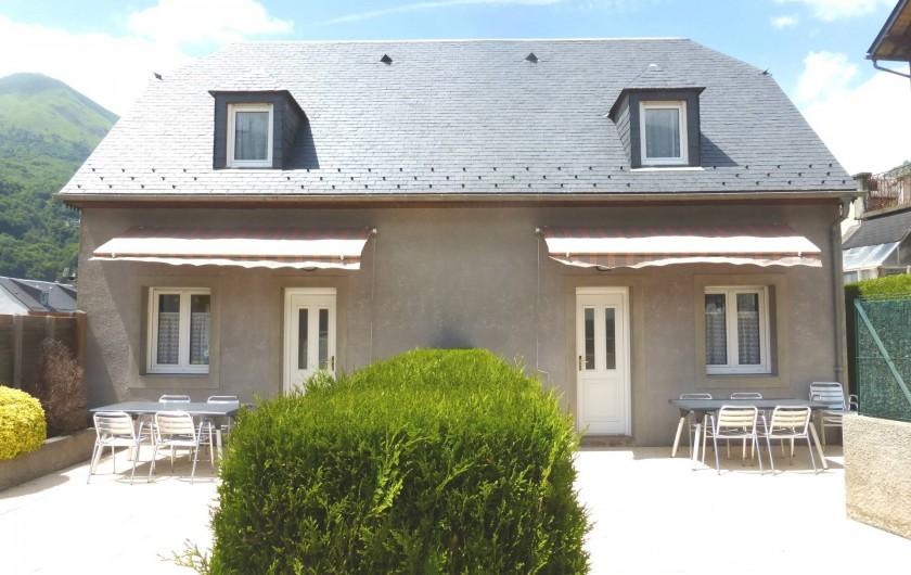 Location de vacances - Gîte à Esquièze-Sère - ARDIDEN  1 & 3  Entrée principale