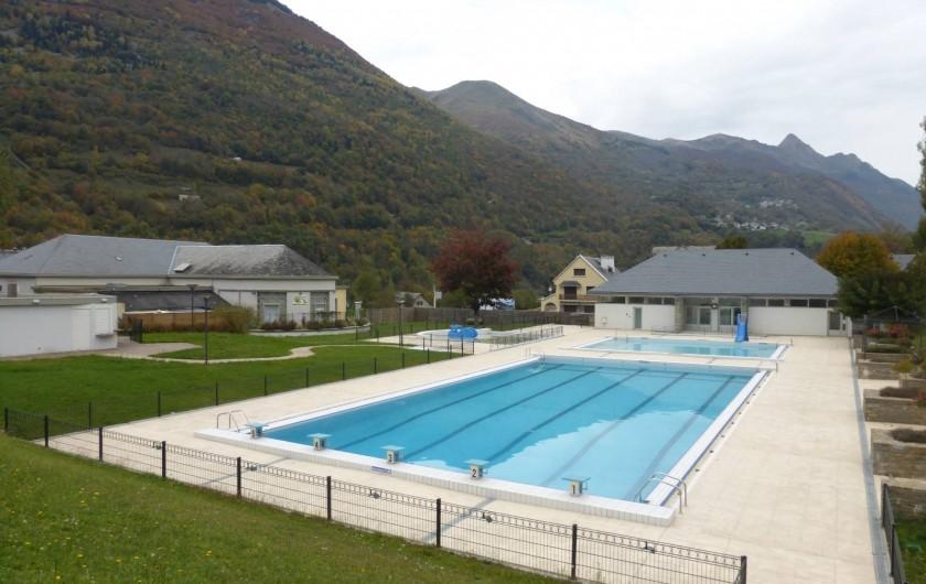 Location de vacances - Gîte à Esquièze-Sère - PISCNE MUNICIPALE    A    LUZ ST SAUVEUR 1 KM DU GÏTE