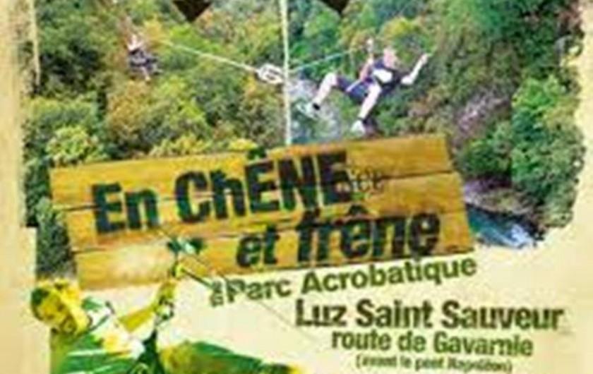 Location de vacances - Gîte à Esquièze-Sère - Parc acrobatique