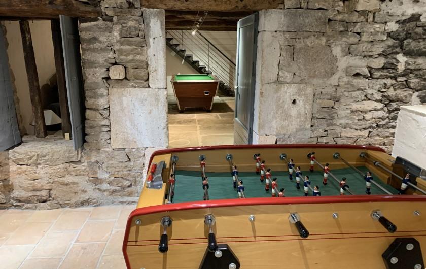 Location de vacances - Gîte à Saint-Antonin-Noble-Val - chambre triple: 1 lit double 160x200 + 1 lit simple 90x200