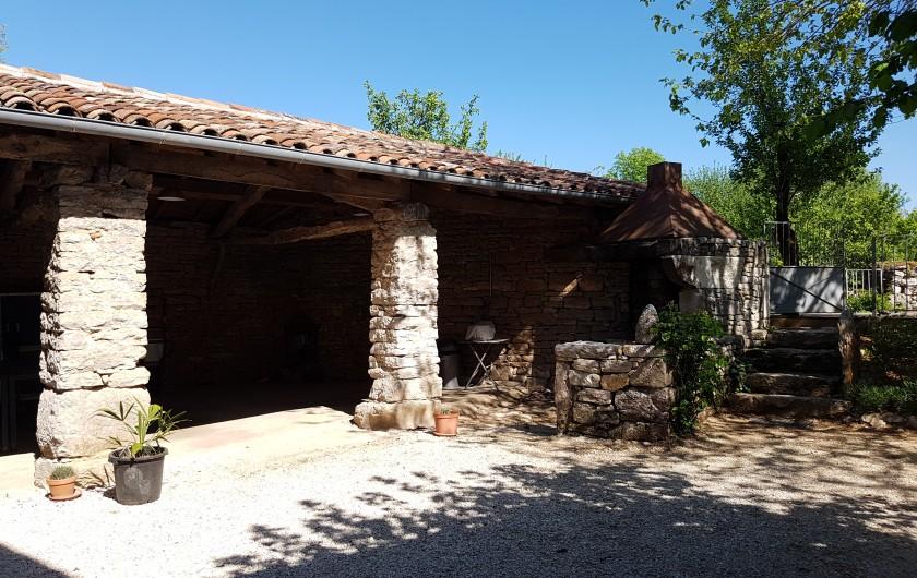 Location de vacances - Gîte à Saint-Antonin-Noble-Val - salon
