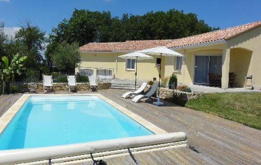 Location de vacances - Villa à Peyrilles