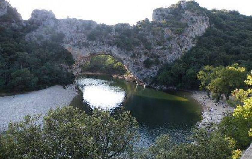 Gite A Vallon Pont DArc Sud Ardeche Avec Grande Piscine  RhneAlpes