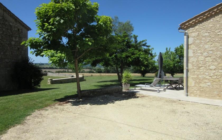 Location de vacances - Maison - Villa à Fourcès - PARKING