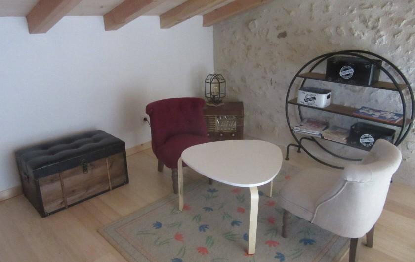 Location de vacances - Maison - Villa à Fourcès - MEZZANINE JOUR AVEC COIN JEUX ENFANTS