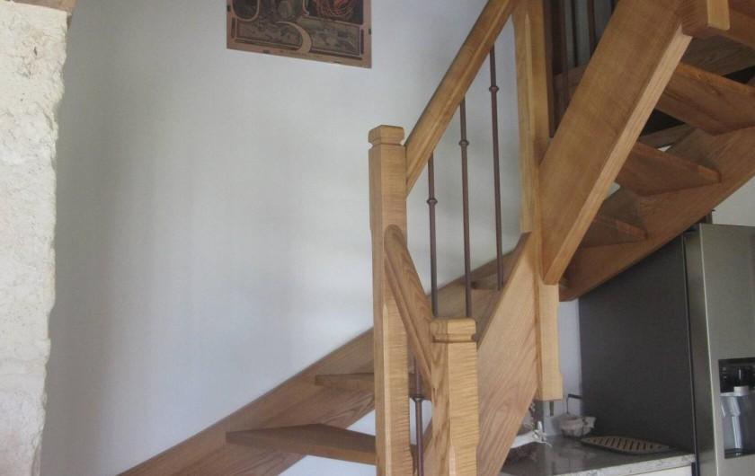 Location de vacances - Maison - Villa à Fourcès - ACCES MEZZANINE JOUR