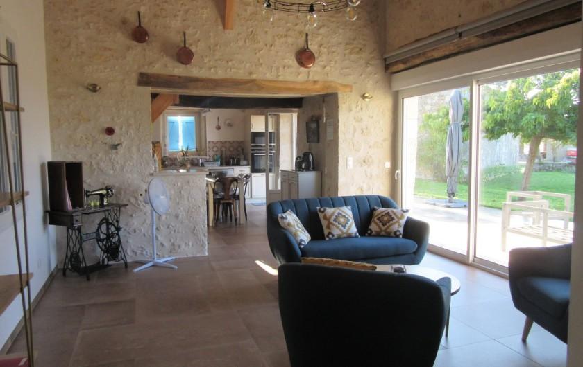 Location de vacances - Maison - Villa à Fourcès - SÉJOUR