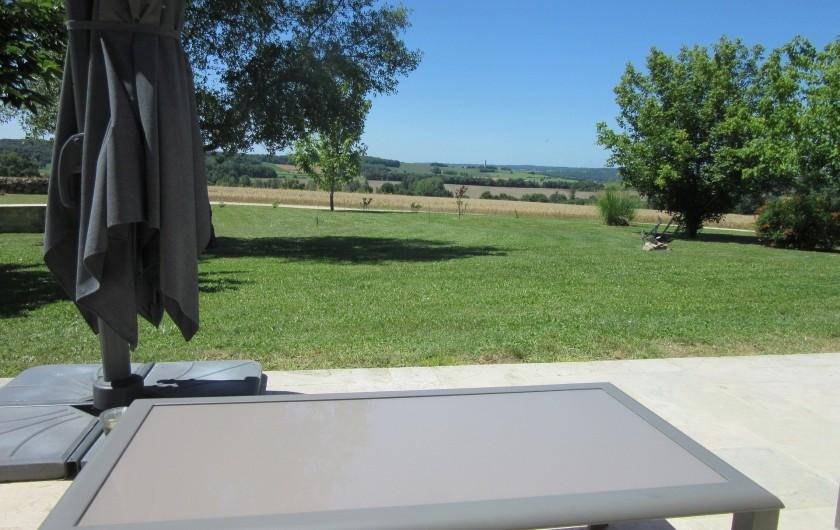 Location de vacances - Maison - Villa à Fourcès - VUE SUR LA CAMPAGNE GERSOISE
