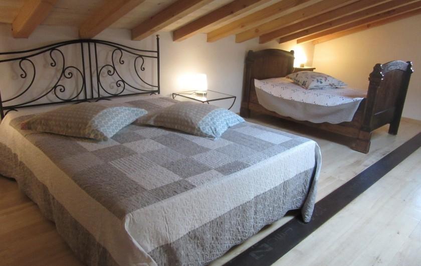 Location de vacances - Maison - Villa à Fourcès - MEZZANINE NUIT  1 LIT 160  1 LIT 110