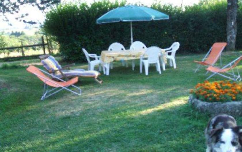 Location de vacances - Appartement à Boisset