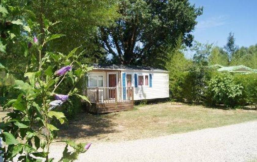 Location de vacances - Camping à Damiatte - mobil home