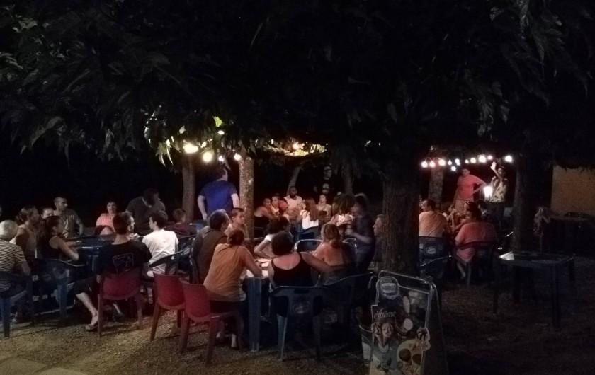 Location de vacances - Camping à Damiatte - animation de soirée