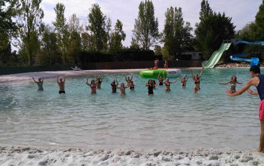 Location de vacances - Camping à Damiatte - animation sportive