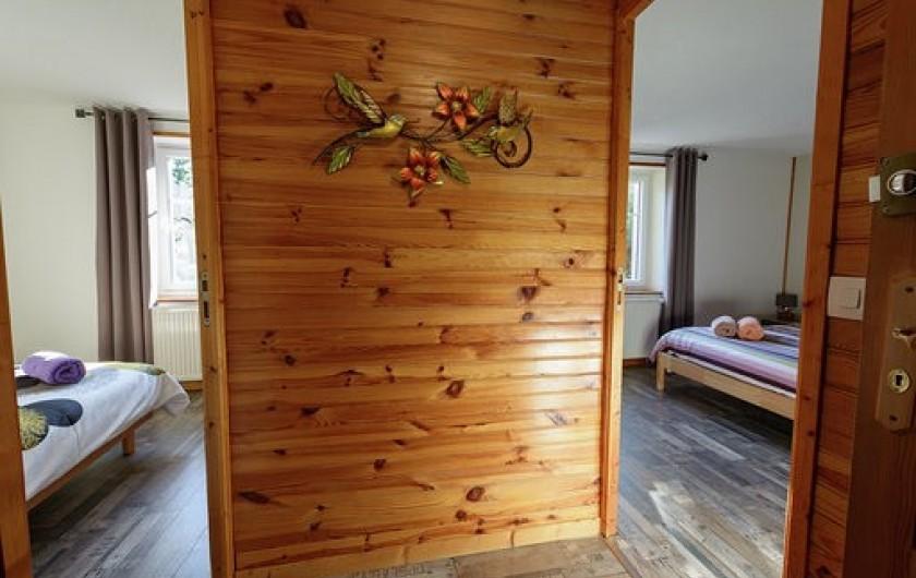 Location de vacances - Chambre d'hôtes à Gerbépal - Chambre : couloir La Calèche