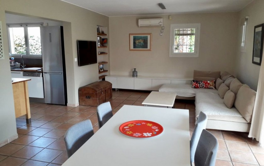 Location de vacances - Maison - Villa à Six-Fours-les-Plages - Salon