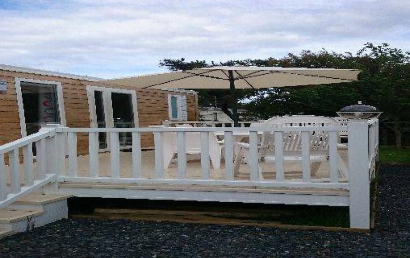 Location de vacances - Bungalow - Mobilhome à Grandcamp-Maisy