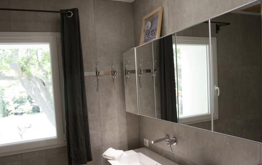 Location de vacances - Mas à Saint-Rémy-de-Provence - salle d'eau privée