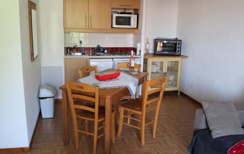 Location de vacances - Appartement à Puy-Saint-Vincent - Le coin cuisine