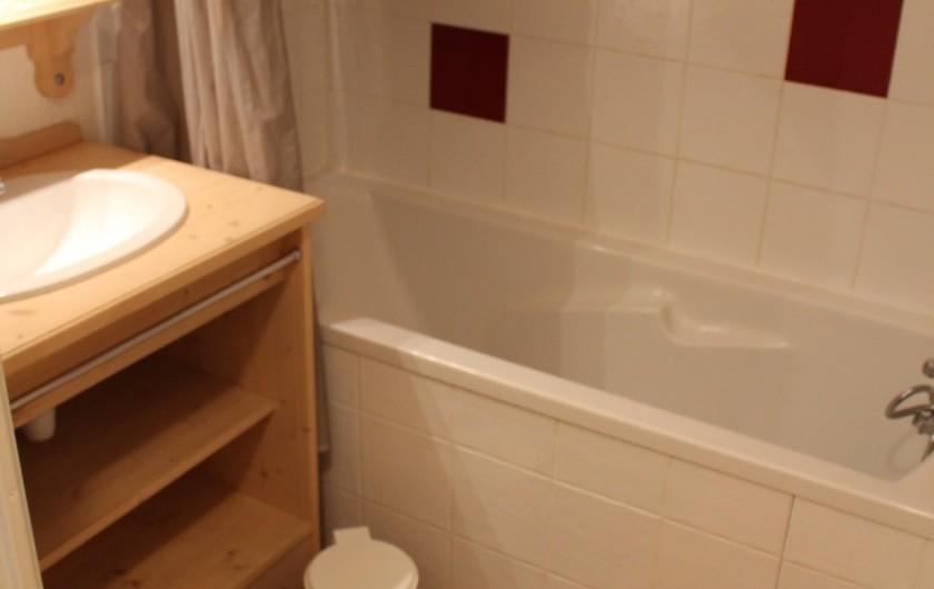 Location de vacances - Appartement à Puy-Saint-Vincent - La salle de bain