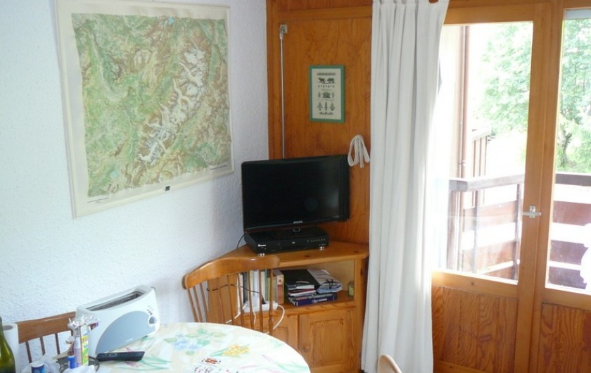 Location de vacances - Appartement à Les Houches - COIN TELE