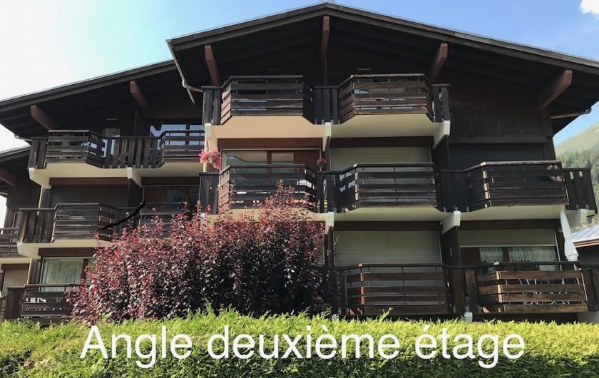 Location de vacances - Appartement à Les Houches - CHALET (APPARTEMENT ANGLE DU 2EME ETAGE)