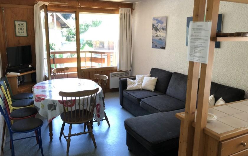 Location de vacances - Appartement à Les Houches - piece principale