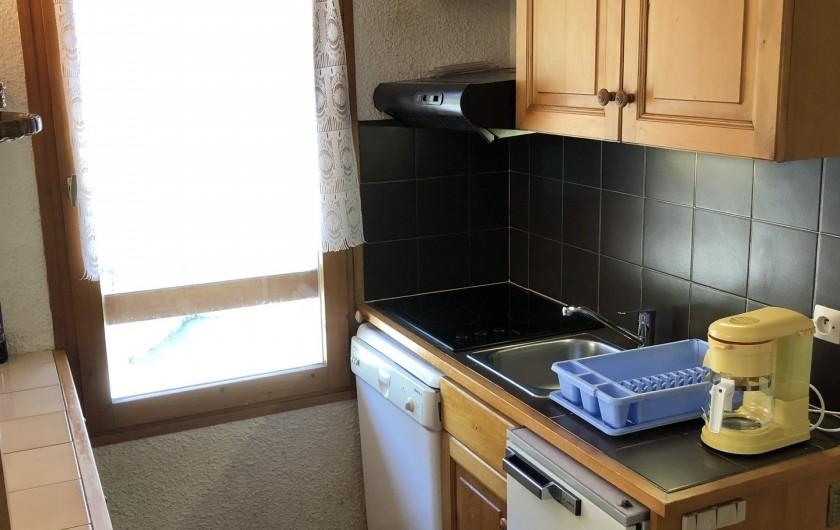 Location de vacances - Appartement à Les Houches - coin cuisine