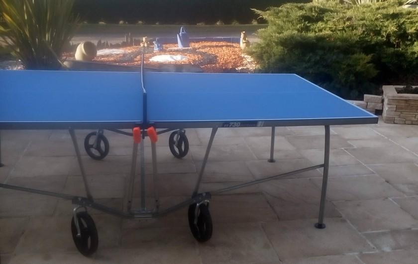 Location de vacances - Gîte à Huillé - Table de ping-pong