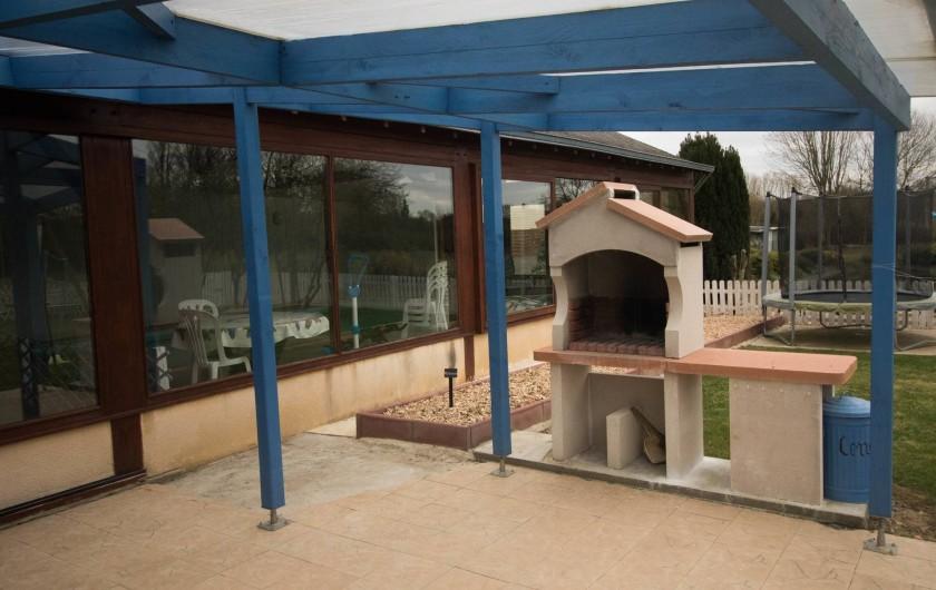 Location de vacances - Gîte à Huillé - Barbecue