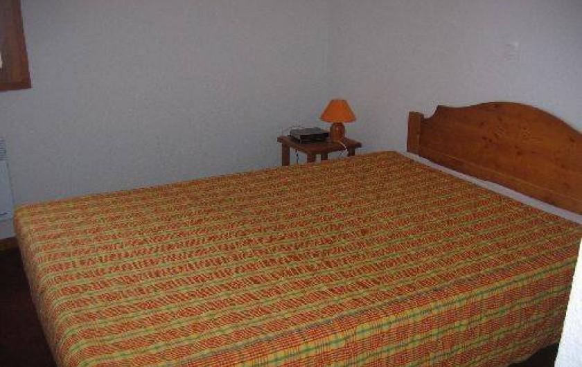 Location de vacances - Appartement à Le Corbier - Chambre parents