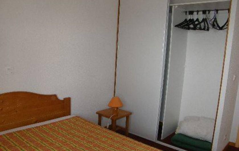 Location de vacances - Appartement à Le Corbier - Rangement dans la chambre des parents