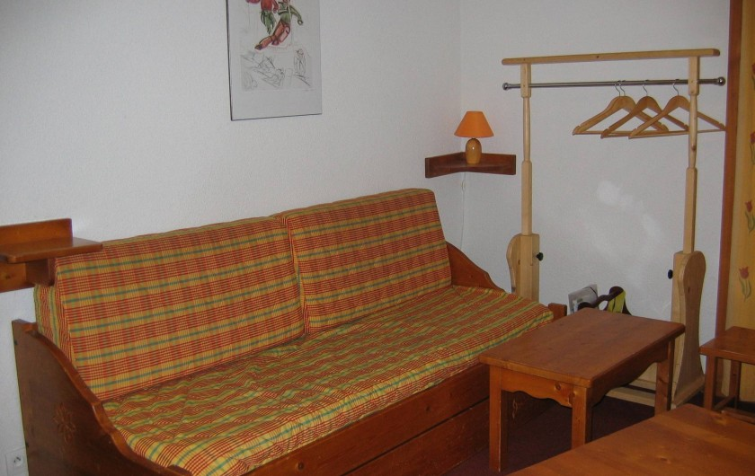 Location de vacances - Appartement à Le Corbier - Canapé lit