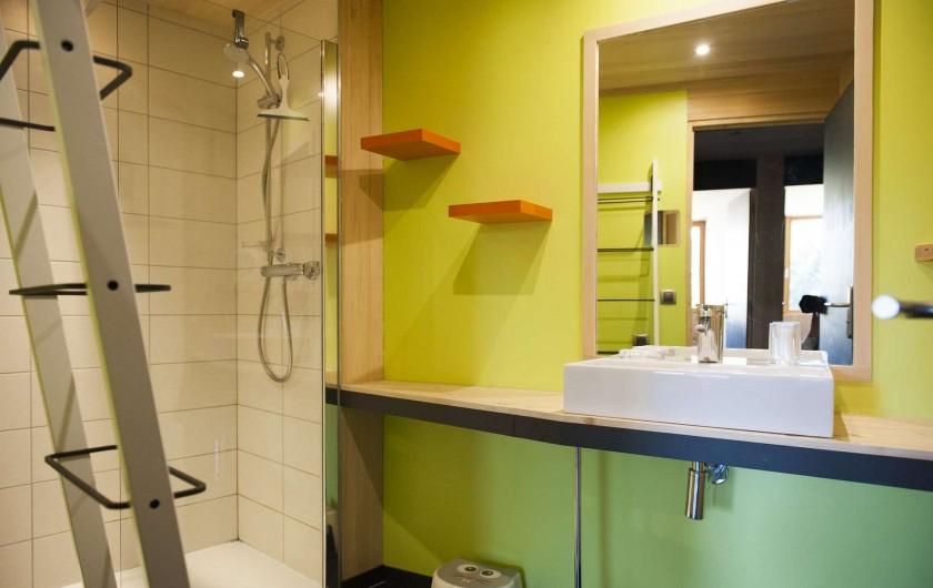 Location de vacances - Chalet à La Pesse - Salle de bains1